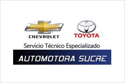 Automotora Sucre, Servicio Técnico Especializado Chevrolet y Toyota