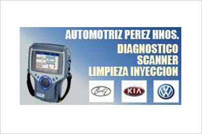 Automotriz Perez, Scanner, Ajuste Motor, Afinamiento, Caja de Cambio