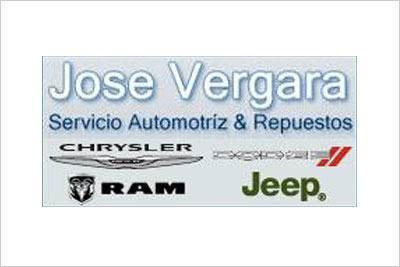 Jose Vergara, Servicio Técnico Chrysler, Jeep, Dodge