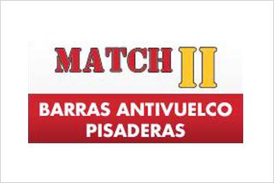 Match II, Portaequipajes, Bicicleta, Ski, Cadenas, Barras