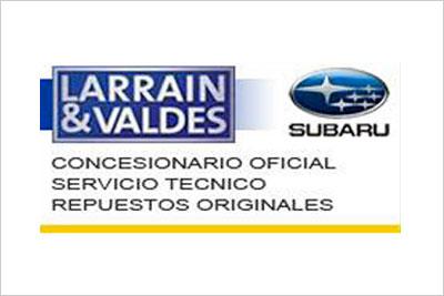 Larrain y Valdes, Repuestos Subaru, Servicio Técnico Subaru