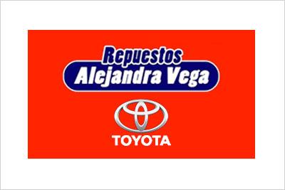 Alejandra Vega, Venta Repuestos Toyota Originales, Alternativos y Desarmaduría