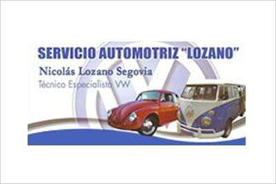 Lozano, Taller Mecánico, Servicio Técnico y Repuestos Volkswagen